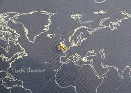 map tacks airplane map pins plane map tacks butterpot designs