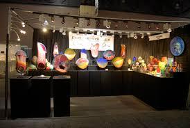 art show display lighting buyers market of american craft 2012 liquid light glass blog