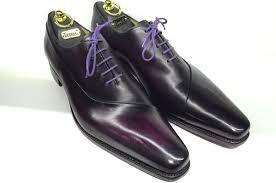 wedding shoes groom loding purple patina 598x397 weddings honeymoons