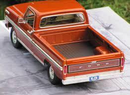 Ford Ranger Truck Colors - 1971 ford ranger xlt moebius under glass pickups vans suvs