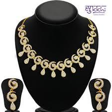 necklace set sukkhi sublime gold plated ad necklace set for women