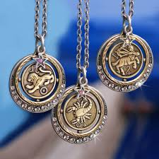 pendant picture necklace images Silver zodiac pendant necklace birthday jewelry made is usa jpg