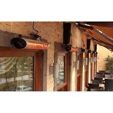 veito blade 2500w wall mounted patio heater 436900 ideal world