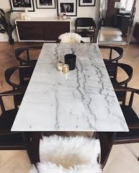 marble dining room set see this instagram photo by weworewhat 16 7k likes h o m e