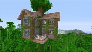 how to build a large jungle tree house in minecraft youtube arafen