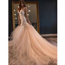 wedding dresses with color 2017 fabulous blush pink wedding dress formal gowns mermaid open