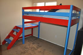 Ana White Bunk Bed Plans by Ana White Superman Theme Loft Bunk Bed Diy Projects
