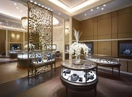 Jewelry Shop Decoration Dhamani 1969 Jewerly Store Design Uae M2display Com