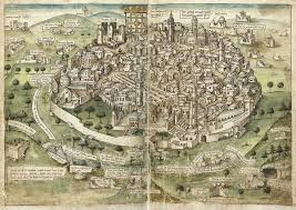 Map Of Medieval Europe History Of Jerusalem During The Middle Ages Wikipedia
