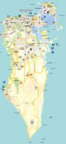 Map Of Al Maps Of Bahrain Detailed Map Of Bahrain In English Tourist Map
