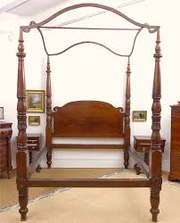 Four Post Bed by American Federal California King Size Four Poster Bed Circa 1820