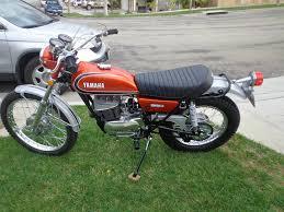 yamaha rt3 360 enduro 1973 restored classic motorcycles at