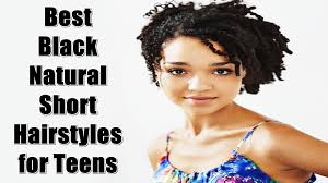 best black natural short hairstyles for teens youtube