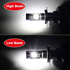 amazon com broview s7 led headlight bulbs w clear arc beam kit