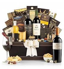 wine baskets the platinum collection luxury wine basket
