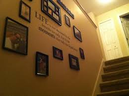 splendid stairway wall decorating ideas pinterest empty frames in