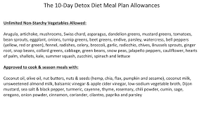 10 day detox diet one sheet the dr oz show