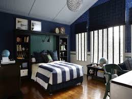 striped bedding set for teen bedroom decorating ideas using dark