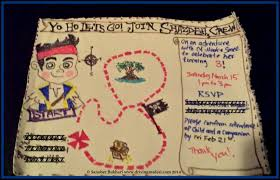 Blank Pirate Map Template by Jake And The Neverland Pirates Birthday Invitations U2013 Gangcraft Net