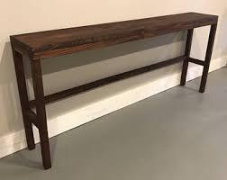 Narrow Console Table Narrow Console Table Etsy