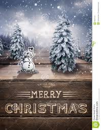 merry christmas scenic stock image image 35673131