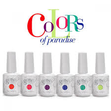 harmony gelish colors of paradise summer 2014 collection