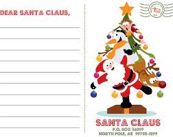christmas letter template word santa letter template word
