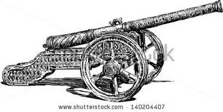 medieval cannon stock vector 140204395 shutterstock
