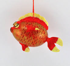 goldfish gift gourd gourdament ornament fishing gift