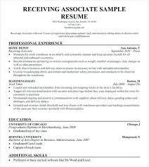 Resume For Warehouse Associate Resume Warehouse Resume Cover Letter Clerk Best Of Shipping Us