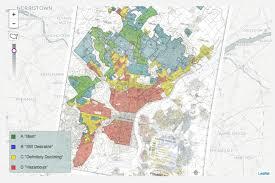 Philadelphia Neighborhood Map Old Map Reveals How Housing Discrimination Happened In Philly