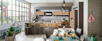 cuisine dans loft cuisine moderne ambiance loft mobalpa