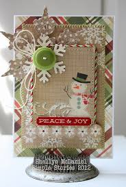 267 best stamped christmas cards images on pinterest stamped