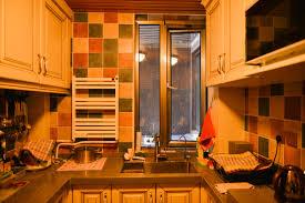 golden rustic kitchen cabinets interior design