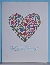 designer cuts stained glass anniversary card lakesidester