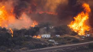 Wildfire California 2016 by Report Says Almost 30 Million Homes In Danger Of Wildfire