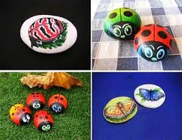 284 best painted rocks bugs frogs lizards u0026 such images on