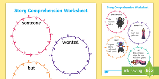 stories for comprehension story comprehension worksheet story stories comprehension