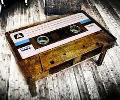 cassette tape coffee table for sale cassette tape table