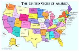 ohio on us map us map puzzle state capitals learning states and within united