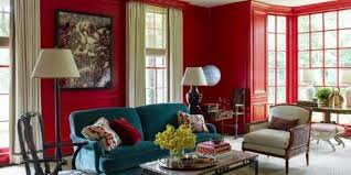 20 best paint colors for invigorating a space with dramatic red