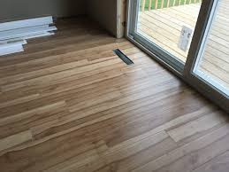 Laminate Flooring Installed Wood Laminate Flooring Is Installed At 536 Falk In Edgerton Wi