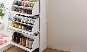 shoe rack entryway bathroom handy shoe storage ideas for effective space management