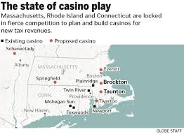 Foxwoods Casino Map In Choosing State U0027s Third Casino License State Faces Risky Bet