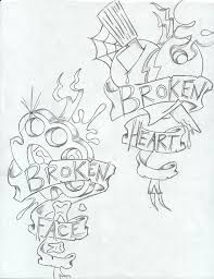 the 25 best broken heart tattoo ideas on pinterest broken heart