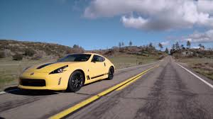 nissan 370z car and driver 2018 nissan 370z heritage edition driving video automototv youtube