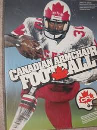 Armchair Quarterback Game Canadian Armchair Football Board Game Boardgamegeek
