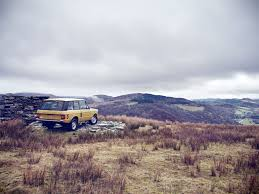 land rover off road wallpaper land rover classic restored the original range rover to like new