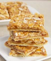 dutch letter bars recipe almond bars dutch and almonds