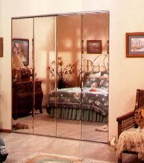 mirrored door units